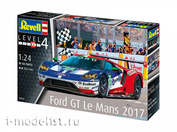 07041 Revell 1/24 car Ford GT Le Mans 2017