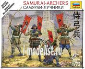 6404 Звезда 1/72 Самураи-лучники
