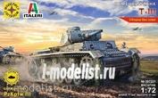 307221 Modeler 1/72 German t-III tank