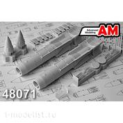 AMC48071 Advanced Modeling 1/48 КАБ-1500Л Корректируемая авиационная бомба калибра 1500 кг