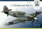70036 ArmaHobby 1/72 Самолет Hurricane Mk IIc
