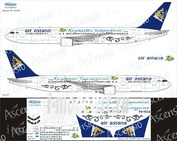 763-011 Ascensio 1/144 Scales the Decal on the plane Boeng 767-300 (Air Astana)