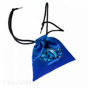 1172 Zvezda Pouch for game components blue