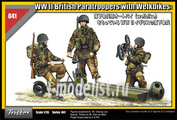 35041 Tristar 1/35 WW II British Paratroopers with Welbikes