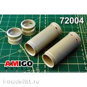AMG72004 Amigo Models 1/72 Входной канал воздухозабрника РД-7М