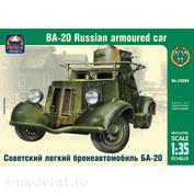 35004 ARK-models 1/35 Советский легкий бронеавтомобиль БА-20