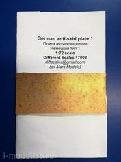 172003 Different Scales 1/72 Плиты антискольжения