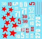 48019 ColibriDecals 1/48 Декаль для I-16 tupe 24/29 Part III