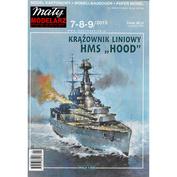 MM2015/789 Maly Modelarz 1/300 HMS