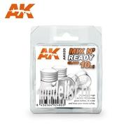 AK-620 AK Interactive MIX N' READY GLASS 10ML (4 банки по 10 мл.)
