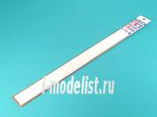 70131 Tamiya Пластиковые стержни (квадратные белые матовые) 5х5мм длиной 40см (10шт)