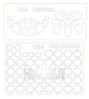 72076 KV Models 1/72 Маска для Туплев-134