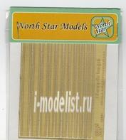 NS35008 North Star 1/35 Швеллер (11 шт. в наборе) Channels