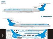 Т5М-034 Ascensio 1/144  Декаль для Ту-154М (Мавиал)(Магаданские авиалинии)