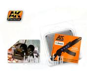 AK-223 AK Interactive Линзы прозрачные OPTIC COLOUR  1,5mm