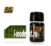 AK024 AK Interactive Mixture for the application of the effects of DARK STREAKING GRIME (dark bands of dirt)