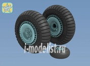 NS72085-a North Star 1/72 Wheels set for Soviet WWII fighter La-5/F/FN - No mask series