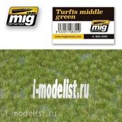 AMIG8355 Ammo Mig TURFTS MIDDLE GREEN (дерн, средне-зеленый цвет)