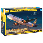 7040 Zvezda 1/144 Passenger Airliner Airbus A321ceo
