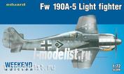7439 Eduard 1/72 Fw 190A-5 Лёгкий Истребитель (2 пушки)