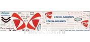 310-006 Ascensio 1/144 Декаль на самолет Arbus A310-300 (Czeh Arlines New)