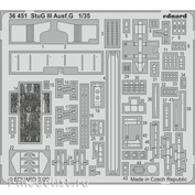 36451 Eduard photo etched parts for 1/35 StuG III Ausf. G