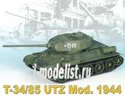 6203 Dragon 1/35 T-34/85 Utz Mod. 1944