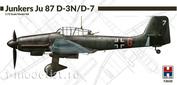 72020 Hobby 2000 1/72 Самолет  Junkers Ju-87 D-3 N / D-7