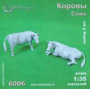 6006 СВМодель 1/35 Фигурки Коровы 2 шт.