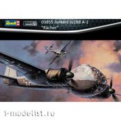 03855 Revell 1/48 Средний бомбардировщик Junkers Ju188 A-2