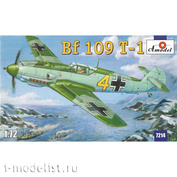 7214 Amodel 1/72 Самолет Bf-109 T-1