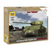6263 Zvezda 1/100 American tank