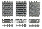 35165 Tamiya 1/35 Наборные траки для танков King Tiger (35057, 35058, 35164, 35169, 35252)