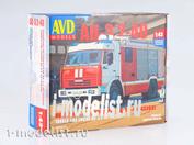 1269AVD AVD Models 1/43 АЦ-3,2-40 (43253)