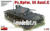 35166 MiniArt 1/35 Танк Pz.Kpfw. III Ausf.C