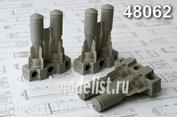 AMC48062 Advanced Modeling 1/48 Фугасная авиабомба калибра 100 кг ФАБ-100-120 (в комплекте шесть бомб)