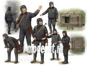 00434 Я-Моделист Клей жидкий плюс подарок Trumpeter 1/35 Soviet Soldier – Scud B Crew