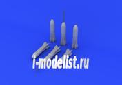 672058 Eduard 1/72 Дополнение к модели M117 bombs late