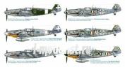 2719 Italeri 1/48 Самолет Bf 109 G-6 ''Italian Aces''