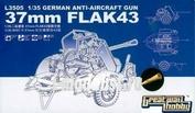 L3505 Great Wall Hobby 1/35 Германская зенитная пушка 3.7 cm Flak 43