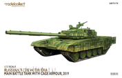 UA72174 Modelcollect  1/72 ussian T-72B with ERA Main Battle Tank with Cage Armour 2019