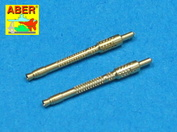 A48 005 Aber 1/48 Set of 2 barrels for German 13mm aircraft machine guns Mg 131 (early type)