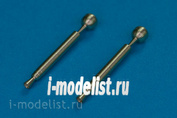48AB07 RB Model 1/48 Metal barrel for Barrel endings for 20mm automat cannon MG FF & MG FF/M