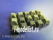35005 DasModel 1/35 paving Stone model square 1050pcs.