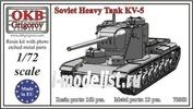 72053 OKB Grigorov 1/72 Soviet Heavy Tank KV-5
