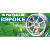 05243 Aoshima 1/24 RS Watanabe 8 Spoke 17 Inch The Tuned Parts No.4