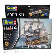 05408N Revell 1/225 Set Royal Navy Battleship Victory