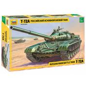 3552 Звезда 1/35 Российский основной боевой танк Т-72А