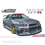 06149 Aoshima 1/24  Nissan C-West BNR34 Skyline GT-R 2002
