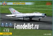 72010 ModelSvit 1/72 Советский перехватчик И-ЗУ (И-420)